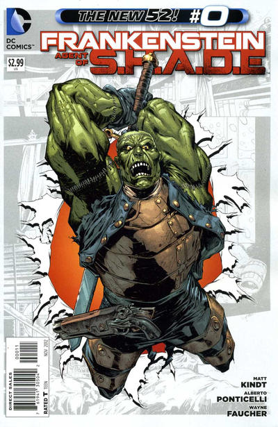 Cover for Frankenstein, Agent of S.H.A.D.E. (2011 series) #0