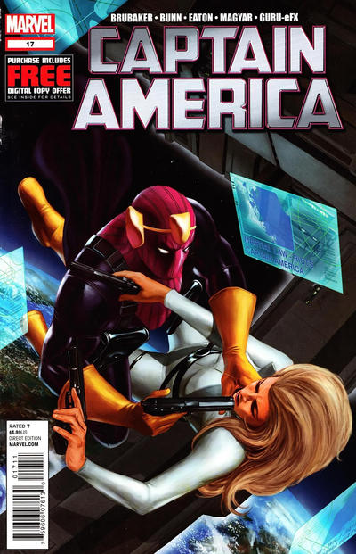 Cover for Captain America (Marvel, 2011 series) #17