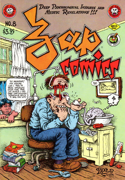 Cover for Zap Comix (1967 series) #8 [5th print 3.95 USD]
