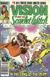 Cover Thumbnail for The Vision and the Scarlet Witch (1985 series) #5 [Newsstand Edition]