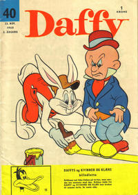 Cover Thumbnail for Daffy (Allers Forlag, 1959 series) #40/1960