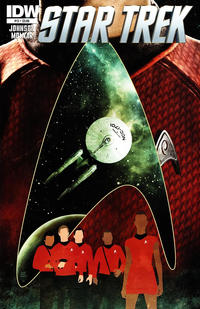 Cover Thumbnail for Star Trek (IDW, 2011 series) #13