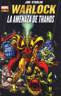 Cover Thumbnail for Marvel Gold. Warlock: La Amenaza de Thanos (Panini España, 2012 series) #[nn]