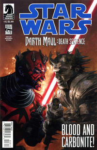 Cover Thumbnail for Star Wars: Darth Maul - Death Sentence (Dark Horse, 2012 series) #3