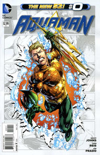 Cover Thumbnail for Aquaman (DC, 2011 series) #0