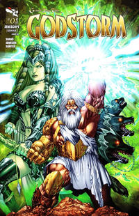 Cover Thumbnail for Grimm Fairy Tales Presents Godstorm (Zenescope Entertainment, 2012 series) #0