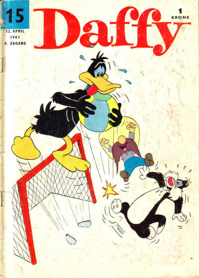 Cover for Daffy (Allers Forlag, 1959 series) #15/1961