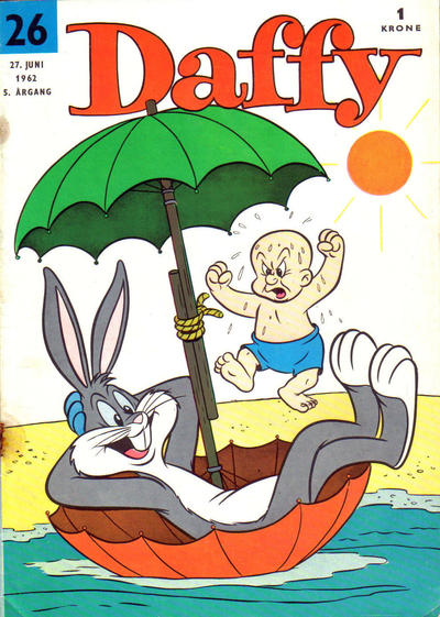 Cover for Daffy (Allers Forlag, 1959 series) #26/1962