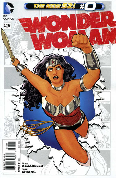 Cover for Wonder Woman (2011 series) #0