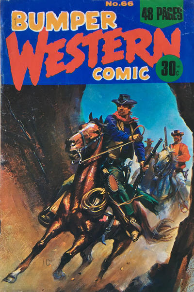Cover for Bumper Western Comic (K. G. Murray, 1959 series) #66
