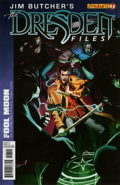 Cover for Jim Butcher's The Dresden Files: Fool Moon (2011 series) #7