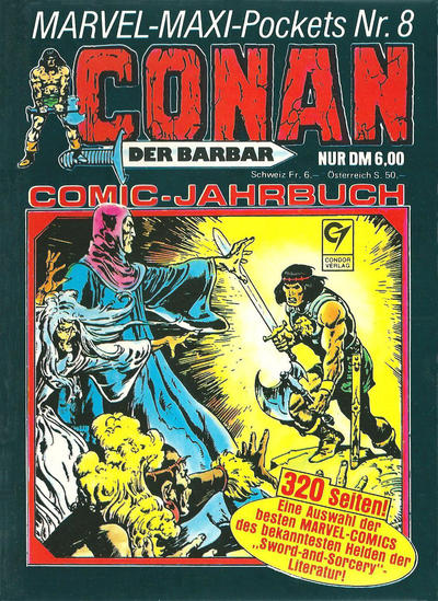 Cover for Marvel-Maxi-Pockets (Condor, 1980 series) #8