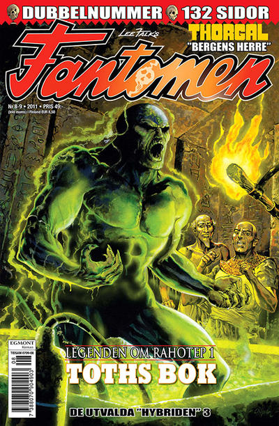 Cover for Fantomen (Egmont, 1997 series) #8-9/2011