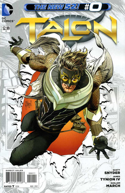 Cover for Talon (DC, 2012 series) #0