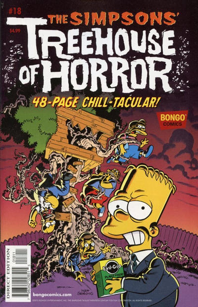 Cover for Treehouse of Horror (Bongo, 1995 series) #18