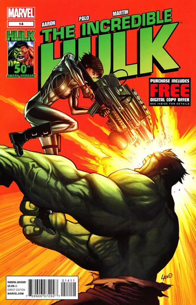 Cover for The Incredible Hulk (Marvel, 2011 series) #14