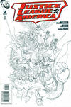 Cover Thumbnail for Justice League of America (2006 series) #2 [Second Printing Sketch Cover]