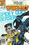 Cover Thumbnail for Web of Spider-Man (1985 series) #13 [Newsstand]