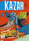 Cover for Ka-Zar (Atlantic Forlag, 1983 series) #2/1984