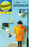 Cover for Wereld in beeld (Classics/Williams, 1960 series) #22 - Spionage