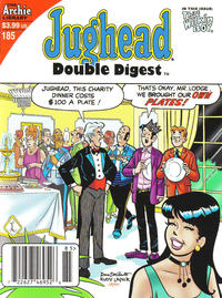 Cover Thumbnail for Jughead's Double Digest (Archie, 1989 series) #185 [Newsstand]