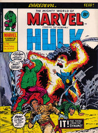Cover for The Mighty World of Marvel (Marvel UK, 1972 series) #168