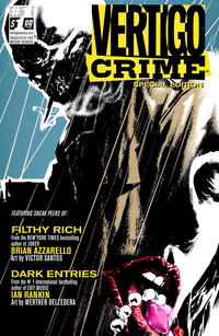 Cover Thumbnail for 100 Bullets/Crime Line Sampler Flip-Book (DC, 2009 series) #1