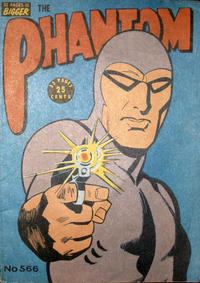 Cover Thumbnail for The Phantom (Frew Publications, 1948 series) #566