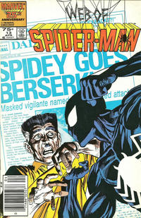 Cover Thumbnail for Web of Spider-Man (Marvel, 1985 series) #13 [Newsstand]