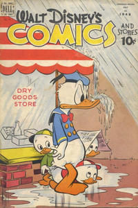Cover Thumbnail for Walt Disney's Comics and Stories (Wilson Publishing, 1947 series) #v8#8 (91)