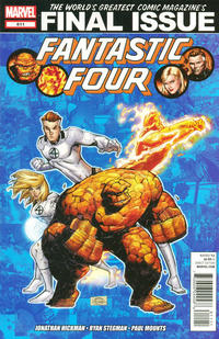 Cover Thumbnail for Fantastic Four (Marvel, 2012 series) #611