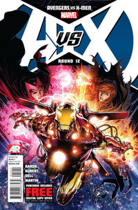 Cover Thumbnail for Avengers vs. X-Men (Marvel, 2012 series) #12