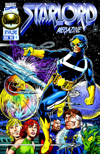 Cover for Starlord Megazine (Marvel, 1996 series) #1
