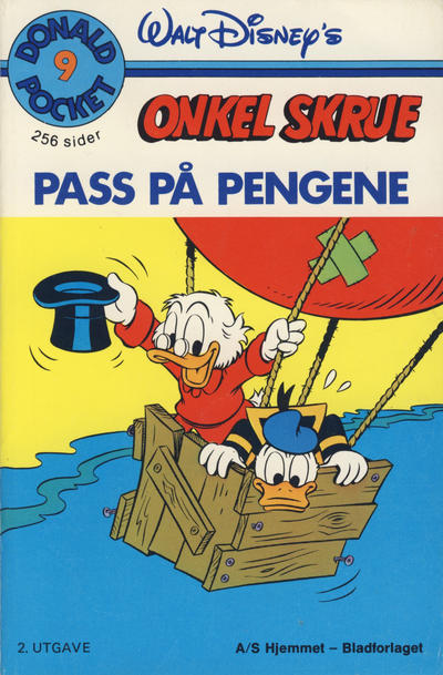 Cover for Donald Pocket (Hjemmet, 1968 series) #9 [2. opplag]