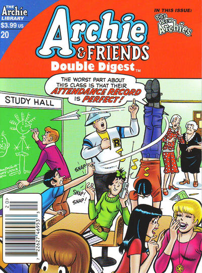 Cover for Archie & Friends Double Digest Magazine (Archie, 2011 series) #20 [Newsstand ]