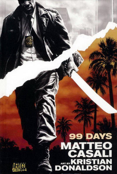 Cover for 99 Days (DC, 2011 series)