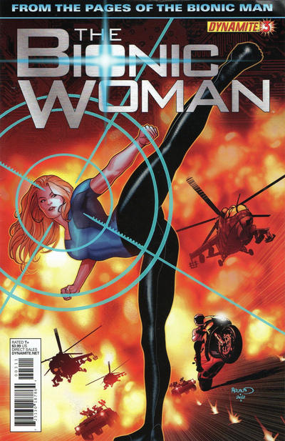 Cover for The Bionic Woman (Dynamite Entertainment, 2012 series) #3