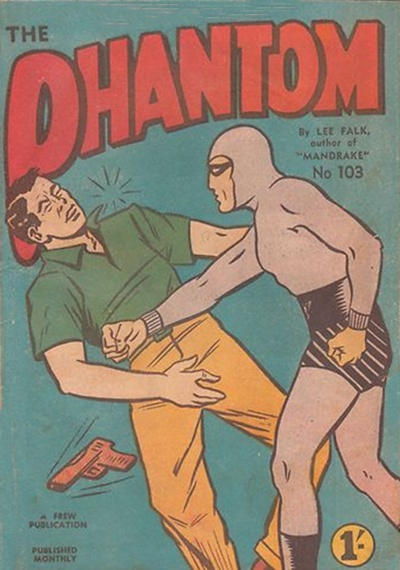 Cover for The Phantom (Frew Publications, 1948 series) #103