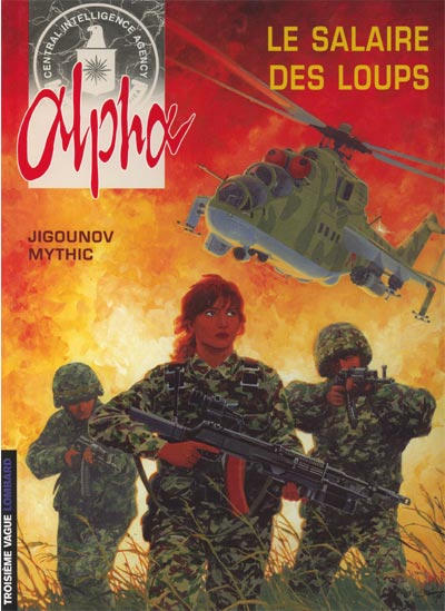 Cover for Alpha (Le Lombard, 1996 series) #3 - Le salaire des loups [2nd edition]