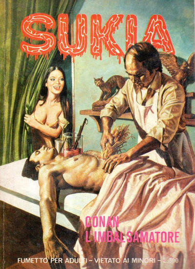 Cover for Sukia (1978 series) #4