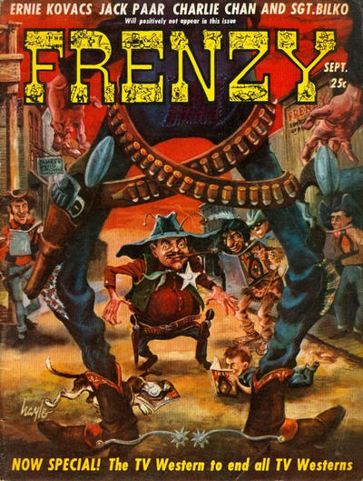 Cover for Frenzy (Picture Magazine, 1958 series) #3