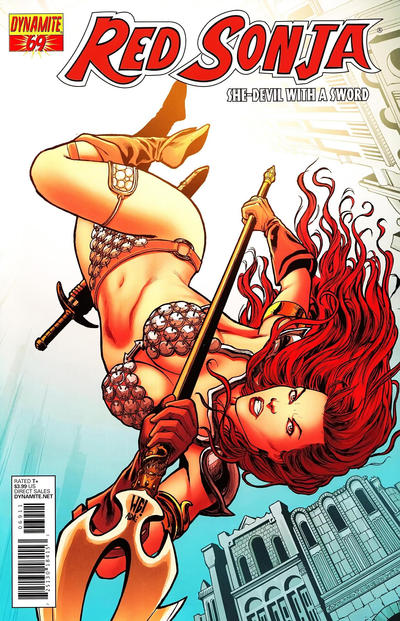 Cover for Red Sonja (2005 series) #69