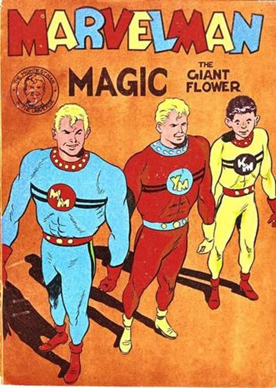 Cover for Young Marvelman Magic (L. Miller & Son, 1954 series) #[4]