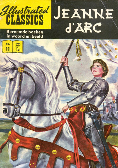 Cover for Illustrated Classics (Classics/Williams, 1956 series) #11 - Jeanne d'Arc [HRN 110]