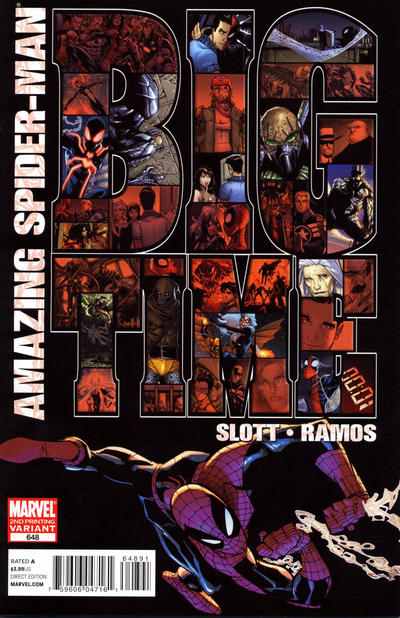 Cover for The Amazing Spider-Man (1999 series) #648
