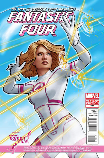 Cover for Fantastic Four (Marvel, 2012 series) #611 [Tan]