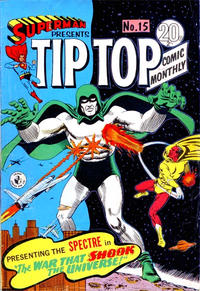 Cover for Superman Presents Tip Top Comic Monthly (K. G. Murray, 1965 series) #15