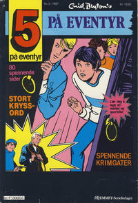 Cover Thumbnail for 5 på eventyr (Hjemmet, 1986 series) #3/1987