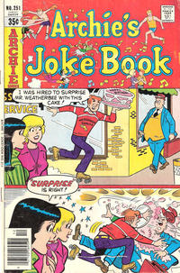 Cover Thumbnail for Archie's Joke Book Magazine (Archie, 1953 series) #251