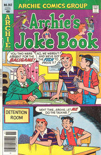 Cover Thumbnail for Archie's Joke Book Magazine (Archie, 1953 series) #262